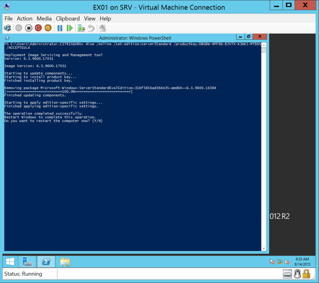 how to set kitematic to run from hyper-v