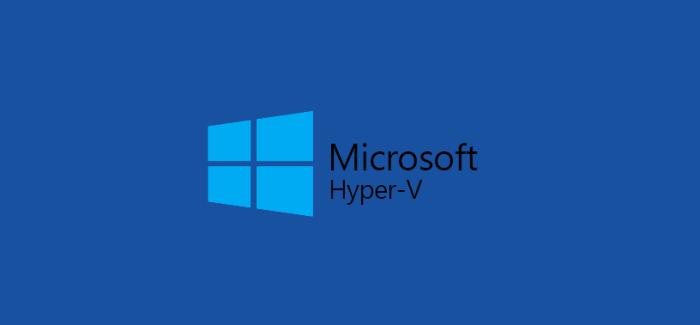 Lab part 4 hyper v networking for Microsoft hyper v architecture