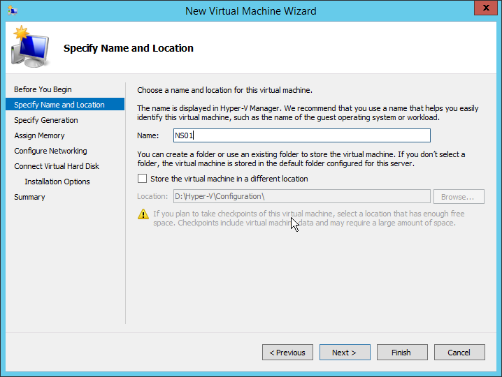 Step 01 - Name of the VM Lab: Part 5 – NetScaler 11 Architecture and Installation Lab: Part 5 – NetScaler 11 Architecture and Installation 2015 08 13 02 16 24