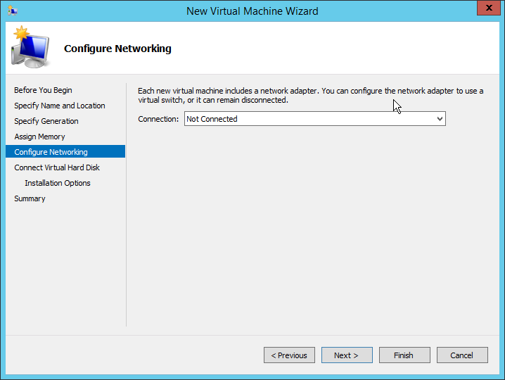Step 04 - Do not select Network Adapter at this time Lab: Part 5 – NetScaler 11 Architecture and Installation Lab: Part 5 – NetScaler 11 Architecture and Installation 2015 08 13 02 17 13