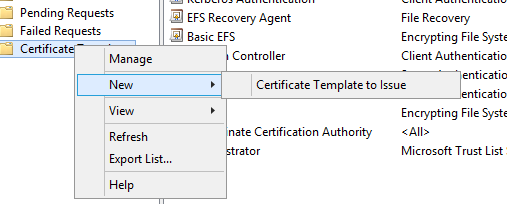 Certificate Template to Issue