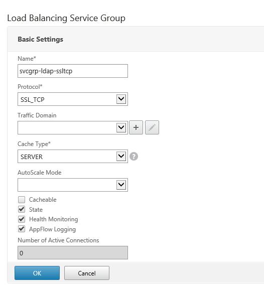 Add service group
