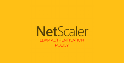 LDAP Auth policy