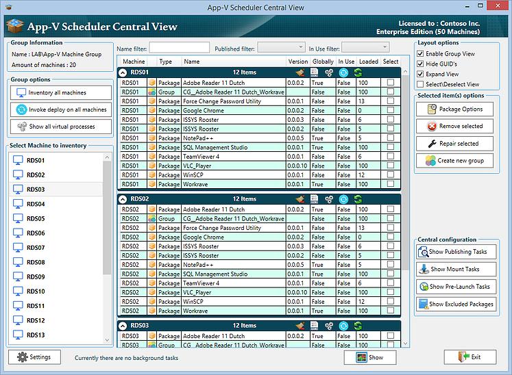 App-V Scheduler main screen  App-V Scheduler review 3c3eef 4deedab075114bf2a7ea4f934e7ec2f5