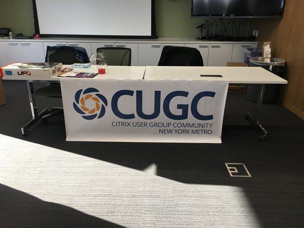 Inaugural CUGC Event in NYC (Credits: @landonf)  CUGC - NY Metro Area #1 - March2016 CeQ1DLpWIAAji1u