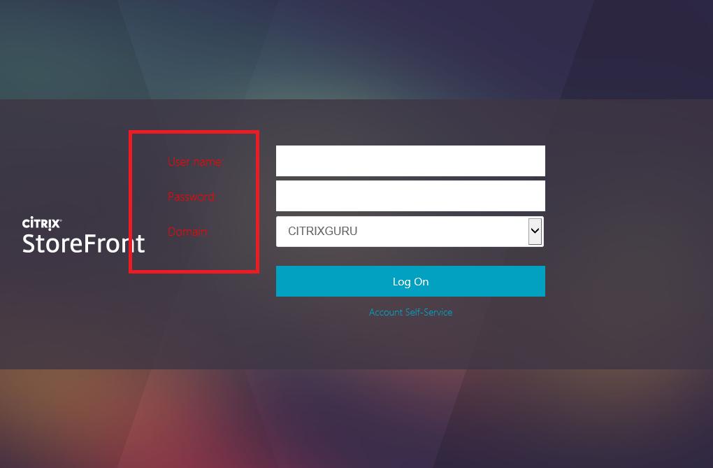 Form color  Lab: Part 22 - Ultimate StoreFront 3 customization guide CitrixGuru Lab Capture 607 1457407221