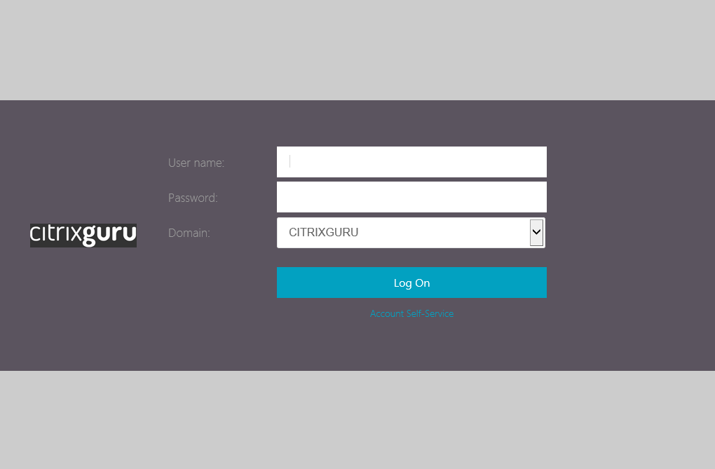 Change logon logo  Lab: Part 22 - Ultimate StoreFront 3 customization guide CitrixGuru Lab Capture 614 1457410162