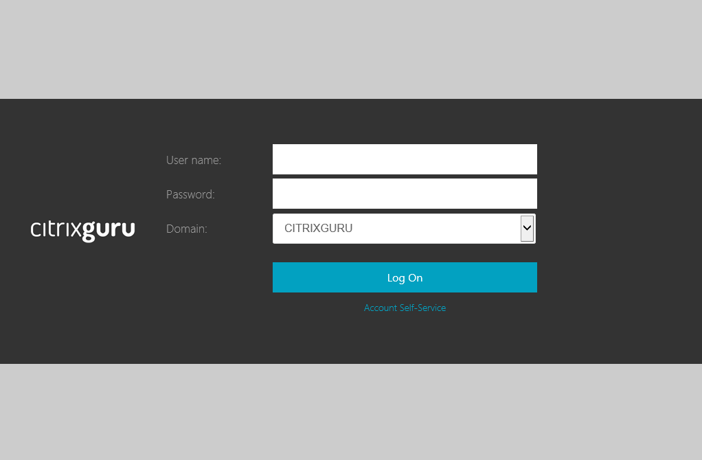 Change form background color  Lab: Part 22 - Ultimate StoreFront 3 customization guide CitrixGuru Lab Capture 615 1457410380
