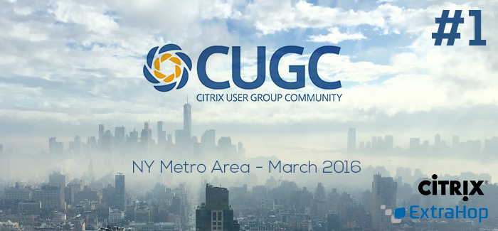 CUGC – NY Metro Area #1 – March2016