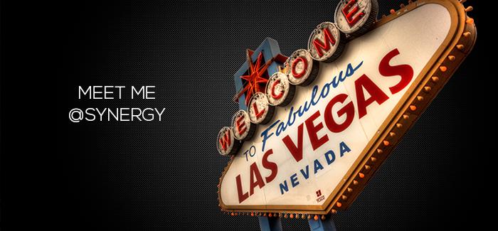 Meet me @Synergy 2016 in Las Vegas