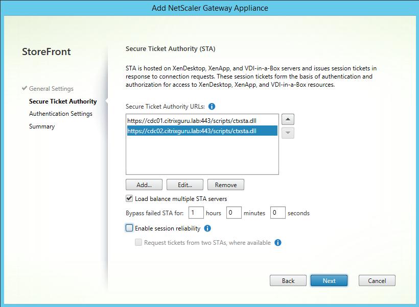 STA Configuration lab: part 23 - securing citrix storefront dmz deployment Lab: Part 23 - Securing Citrix StoreFront DMZ deployment CitrixGuru Lab Capture 707 1465624339
