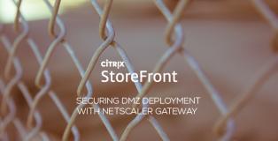 Securing StoreFront DMZ Deployment