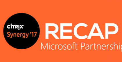 Citrix Synergy 2017 - Microsoft partnership