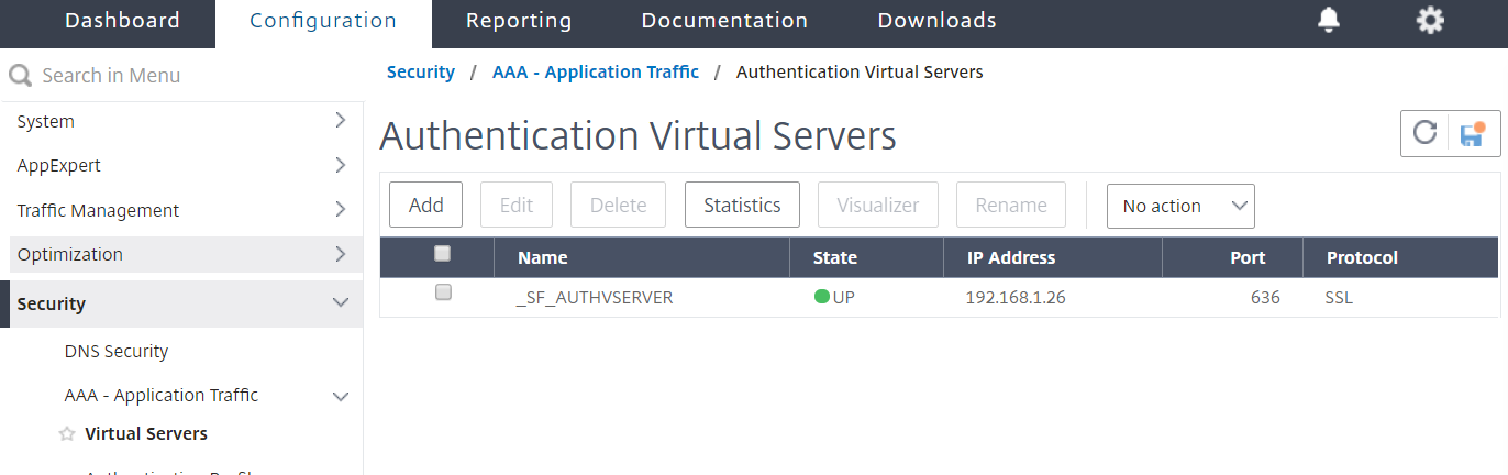NetScaler for ShareFile - Switch to LDAPS 1