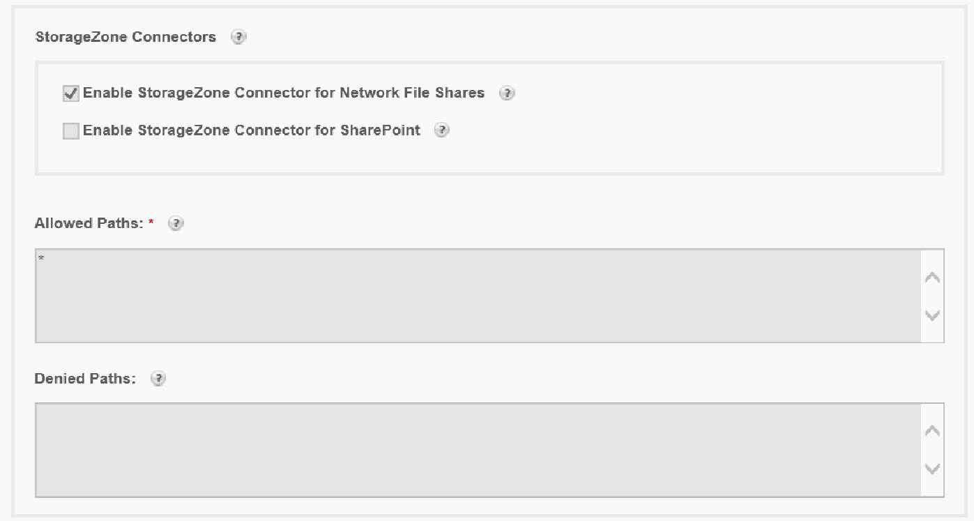 Citrix ShareFile StorageZones Controller - Configure the network share 2