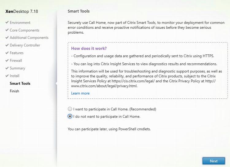 Install VDA on Azure Windows 10 VM - Part 7