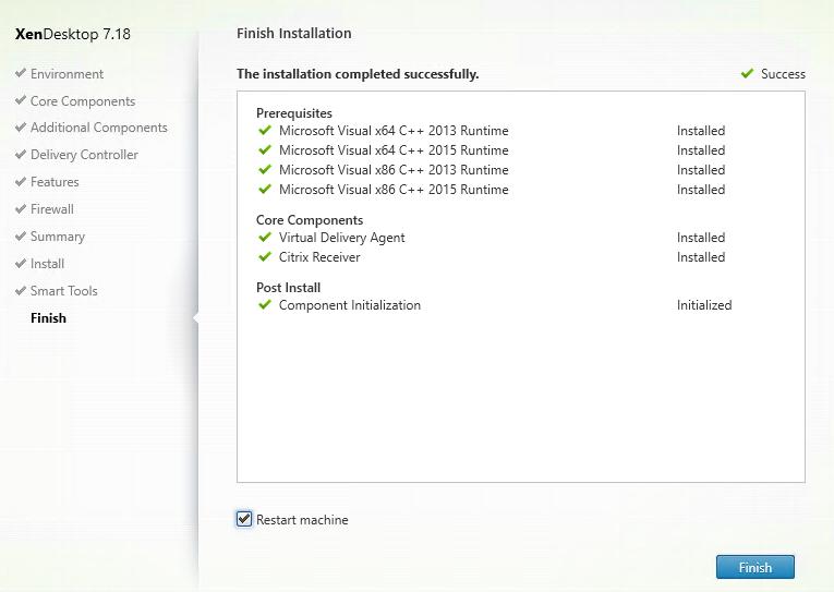 Install VDA on Azure Windows 10 VM - Part 8