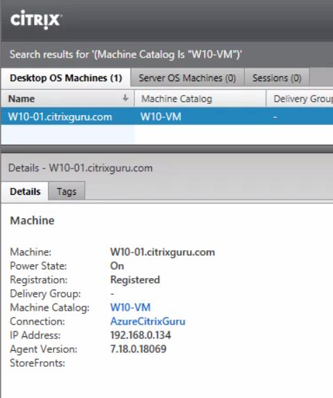XenDesktop Service - Create Machine Catalog Part 6