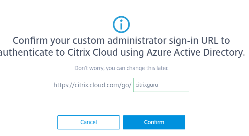URL to authenticate using Azure Active Directory