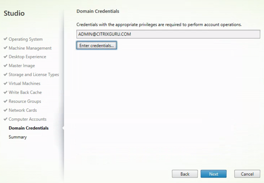 XenDesktop And XenApp Service for MCS - Create new MCS catalog 12