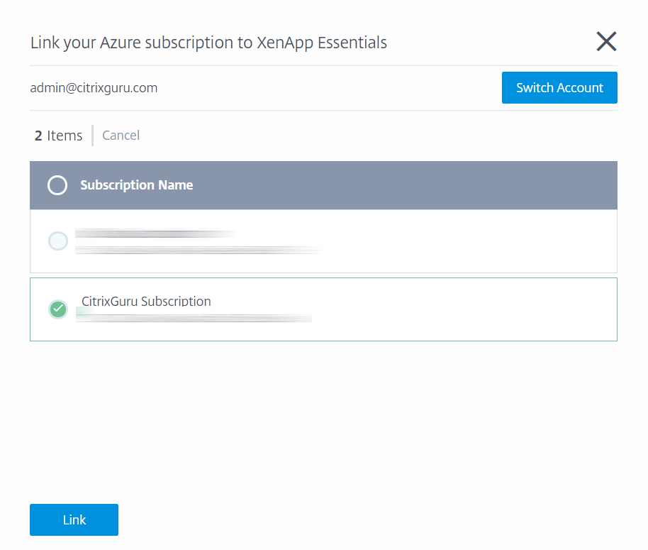Configure Azure Quick Deploy in Citrix Cloud 5