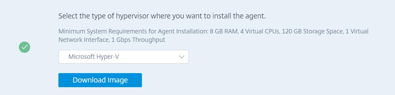 Citrix Management and Analytics Service - Download Agent image