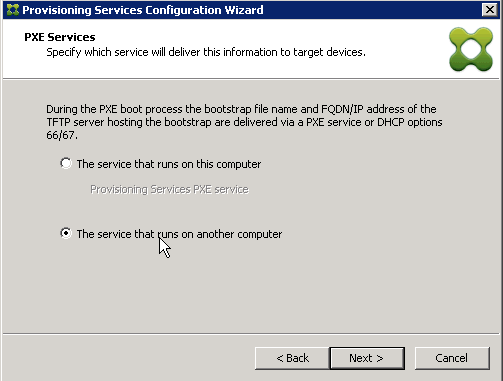 PXE Configuration
