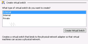 External Virtual Switch