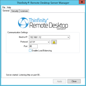 Remote Desktop Server