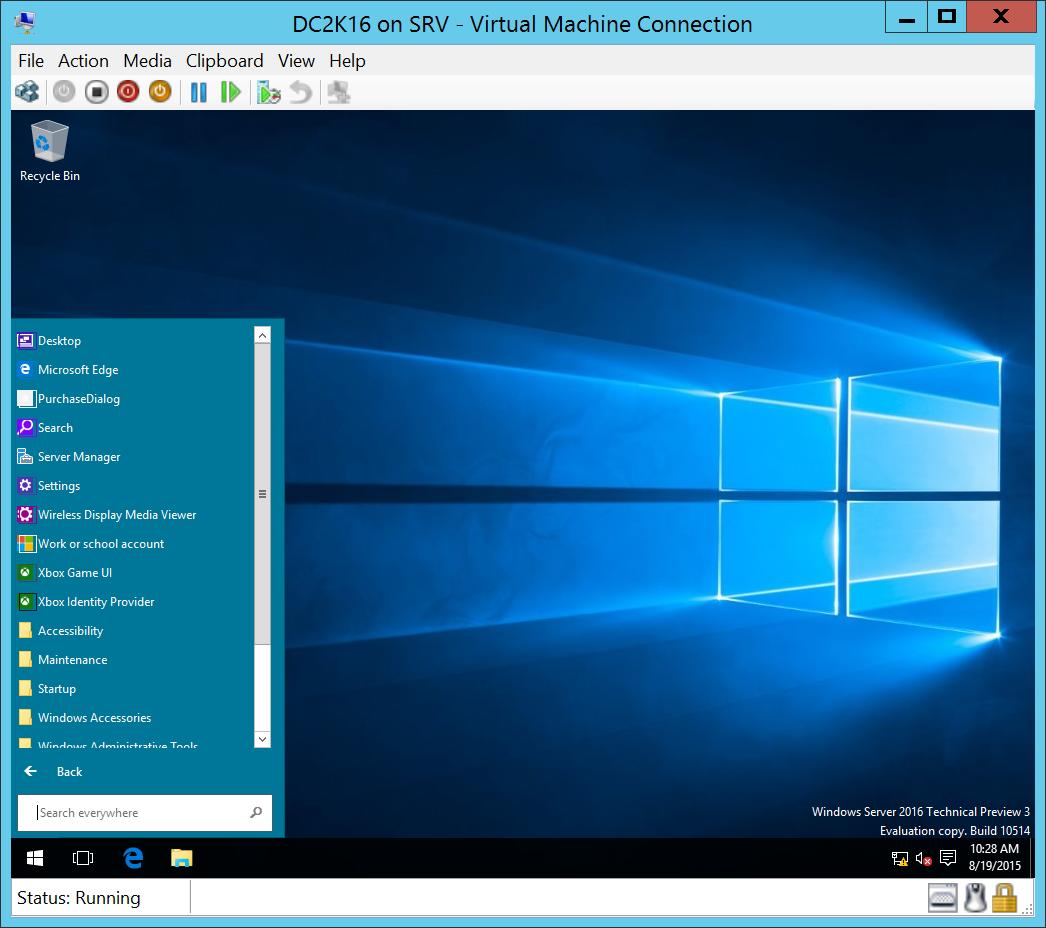 Download Windows Server 2016 Technical Preview 3 - Nicolas