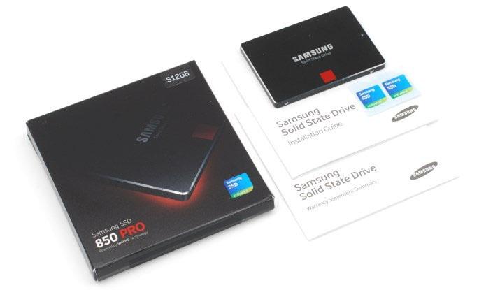 Samsung 850 PRO 512GB SATA III Solid State Drive Model: MZ-7KE512BW