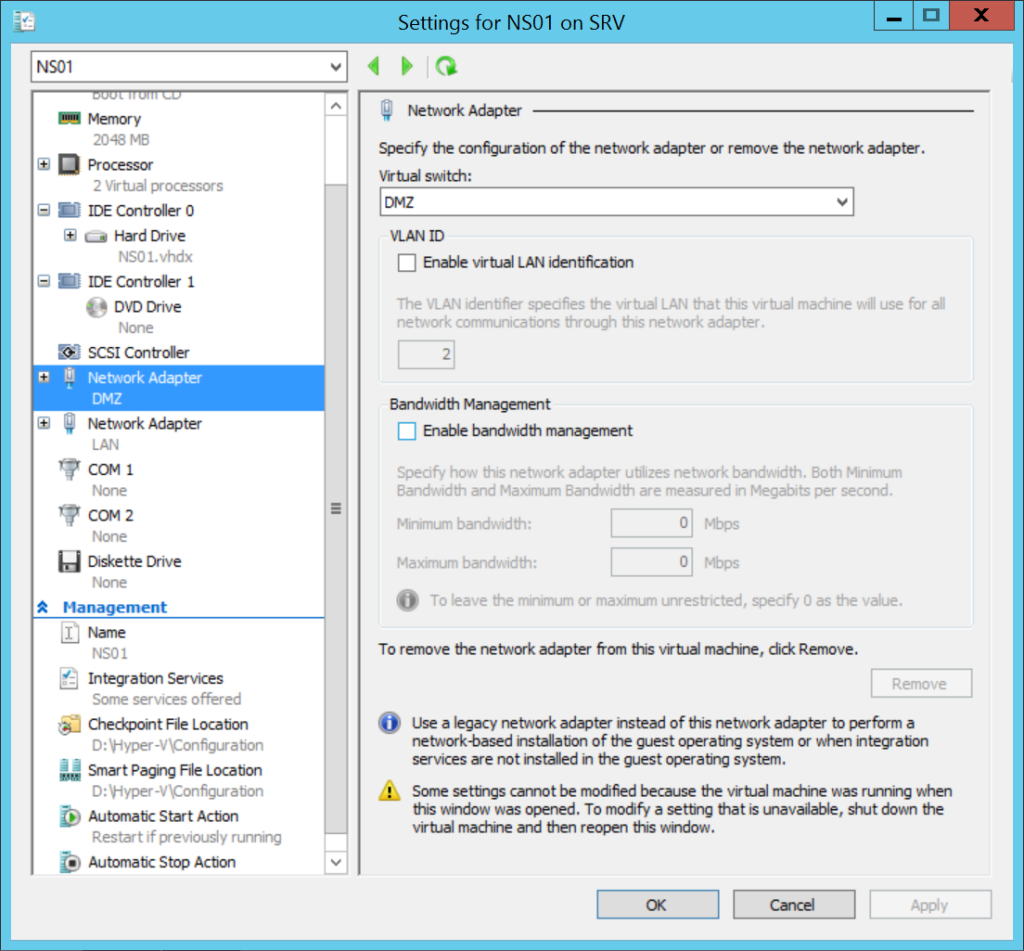 Lab: Part 4 - Hyper-V Networking - Nicolas Ignoto, CTP
