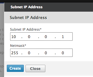 Step 07 - Configure Subnet iP