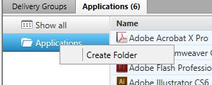 Select Create Folder