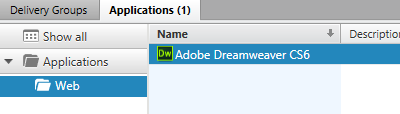 Dreamweaver is in the new folder