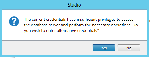 Alternative credentials