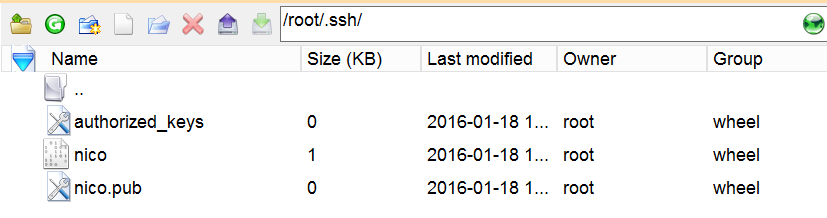 .SSH directory