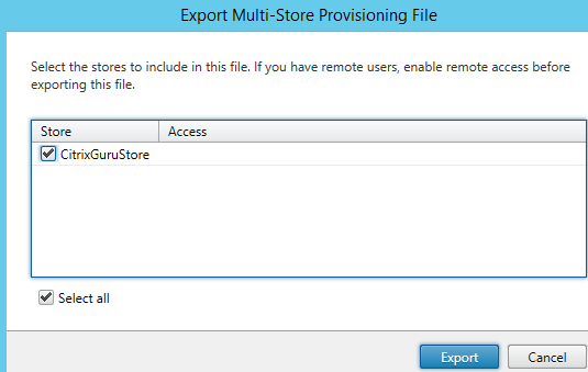 Provisioning file creation