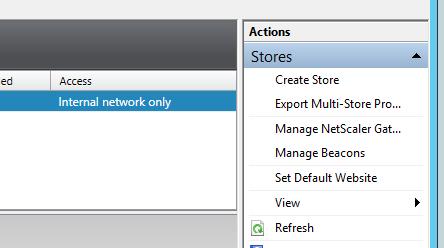 Manage NetScaler Gateway