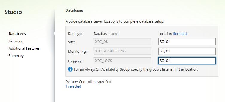 SQL Server info