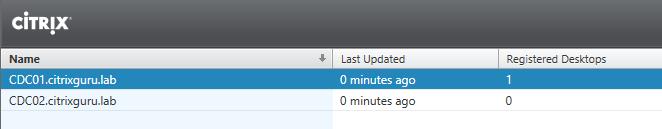 XenDesktop 7.11 controllers