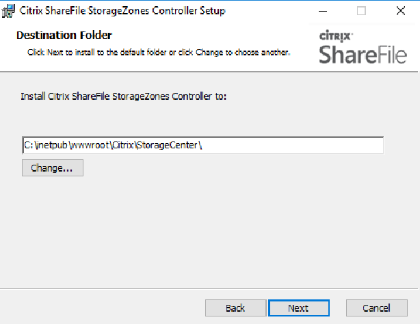 Citrix ShareFile StorageZones Controller setup 02
