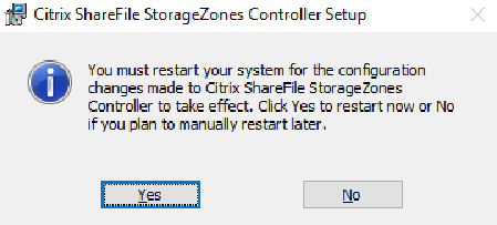Citrix ShareFile StorageZones Controller setup 04