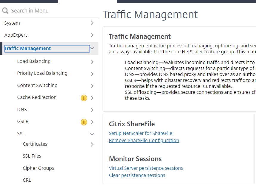 NetScaler for ShareFile - Setup