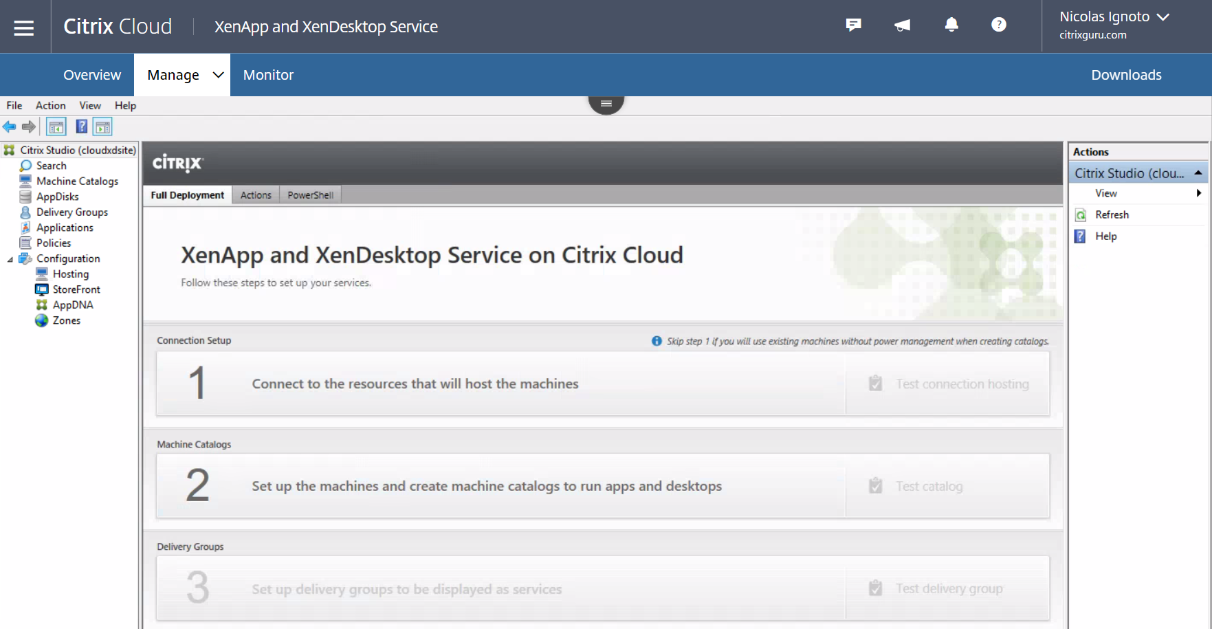XenDesktop and XenApp Service Console