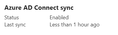 AD Connect Sync