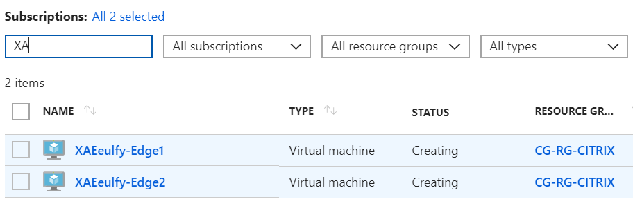 Configure Azure Quick Deploy in Citrix Cloud 15