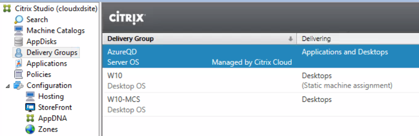 Configure Azure Quick Deploy in Citrix Cloud 33