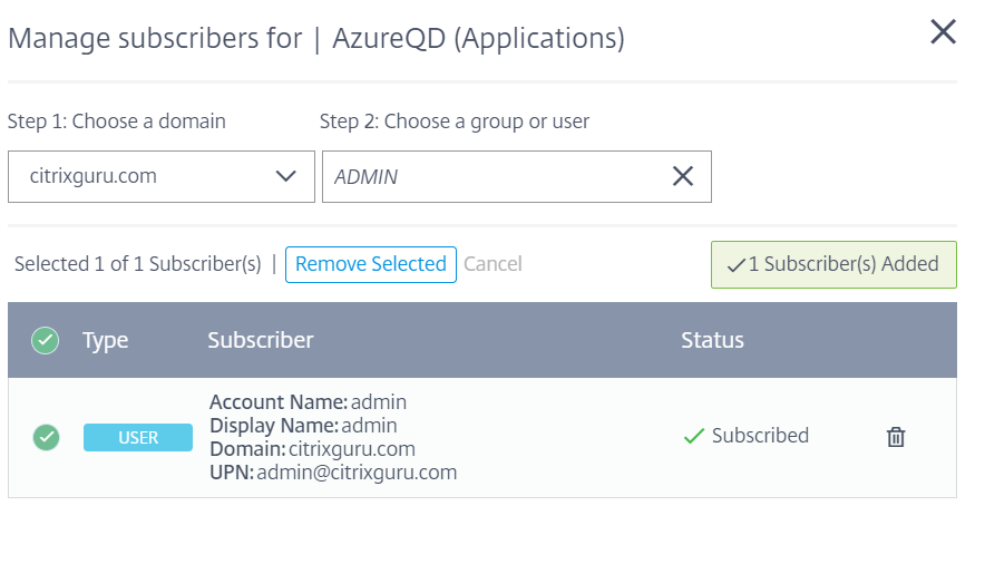 Configure Azure Quick Deploy in Citrix Cloud 25