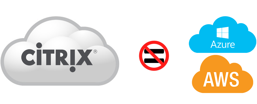 Citrix Cloud is is not like AWS or Azure